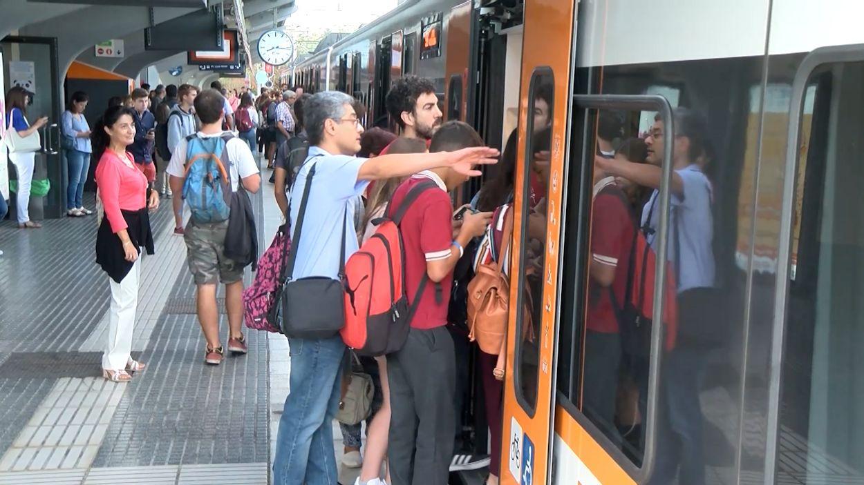 L'estació de FGC de Sant Cugat / Foto: Cugat Mèdia