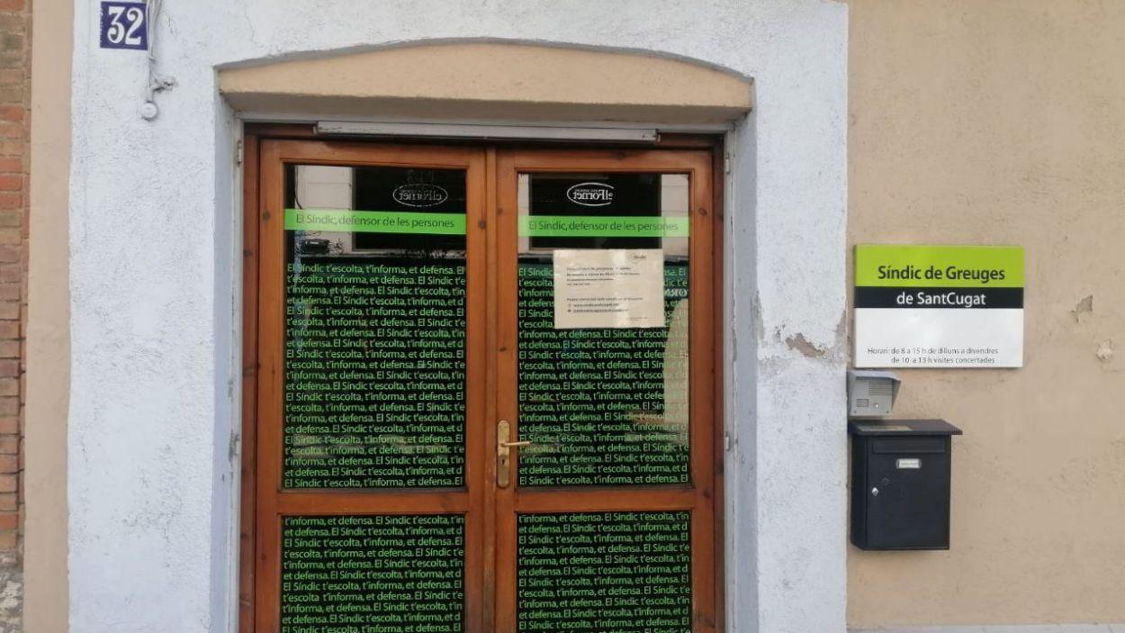 Imatge d'arxiu de l'oficina del Síndic de Greuges de Sant Cugat / Foto: Cugat Mèdia