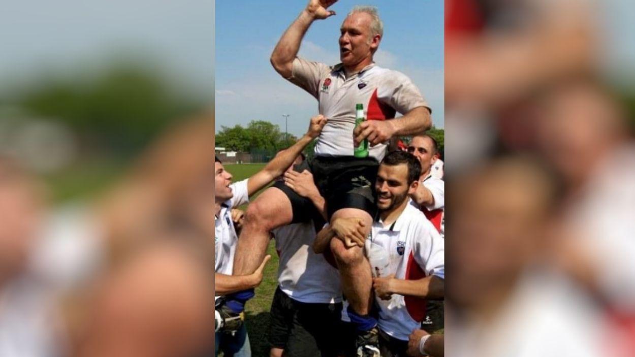 Mor Diego Fuks, exentrenador i exjugador del Club Rugby Sant Cugat