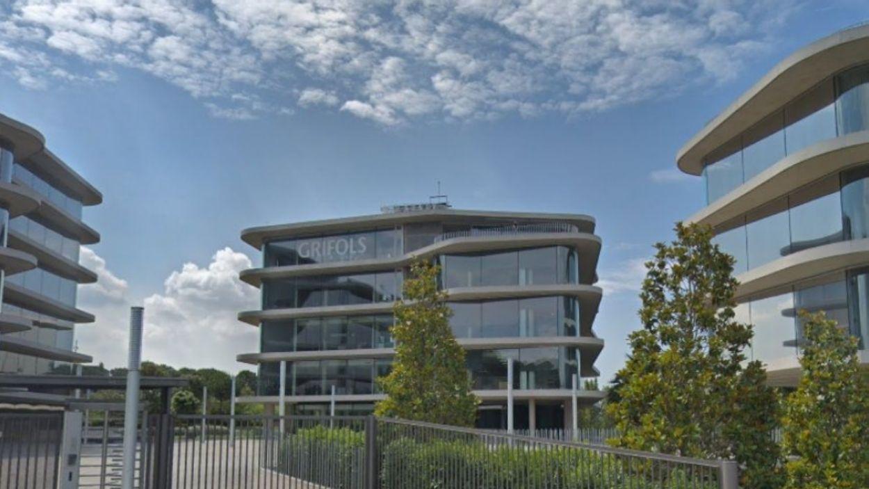 La seu de l'empresa Grifols a Sant Cugat / Foto: Google Maps