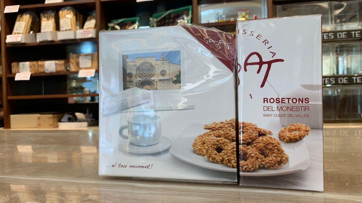 Quin és l'origen de les galetes del rosetó de la pastisseria Sàbat de Sant Cugat?
