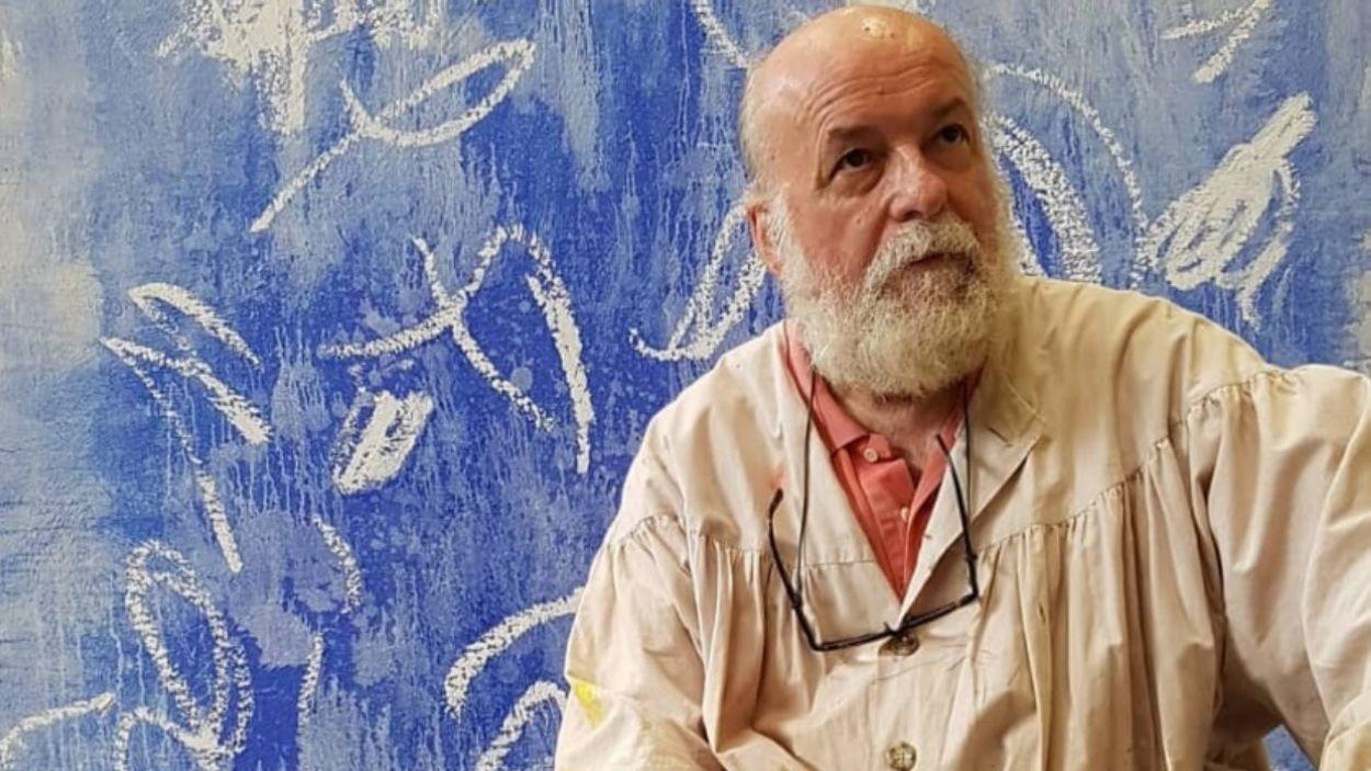 A part de fer de guia aquets dijous, Sergi Barnils és un dels artistes exposats a la XXII Biennal / Foto: Cedida
