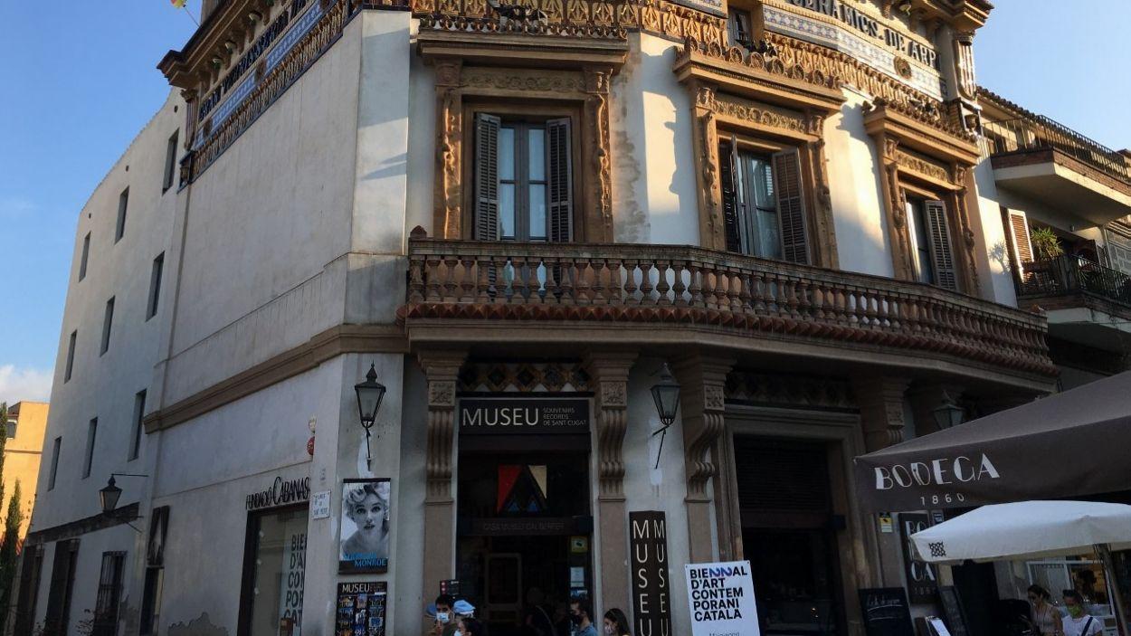 La Casa-Museu Cal Gerrer, on s'ha fet la visita guiada / Foto: Cugat Mèdia