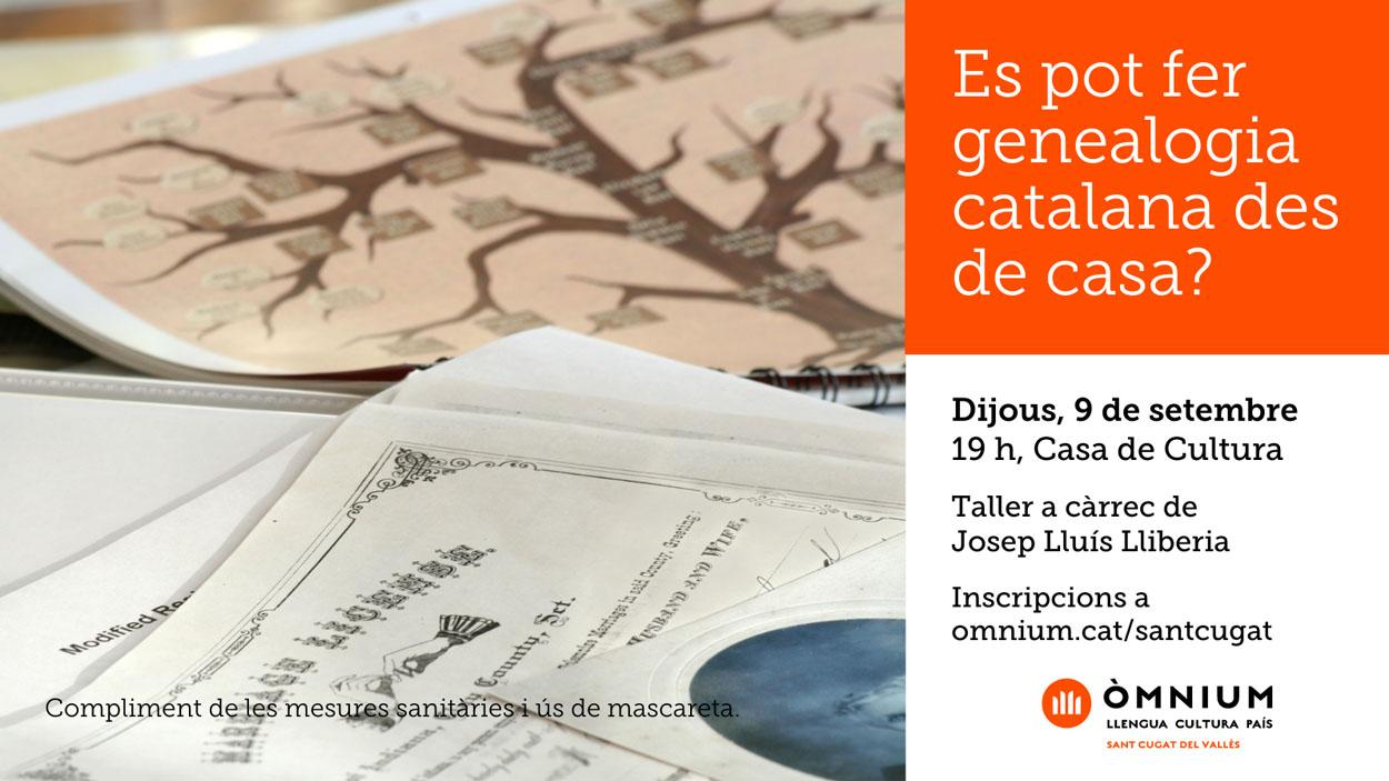 Taller: 'Es pot fer genealogia catalana des de casa?'