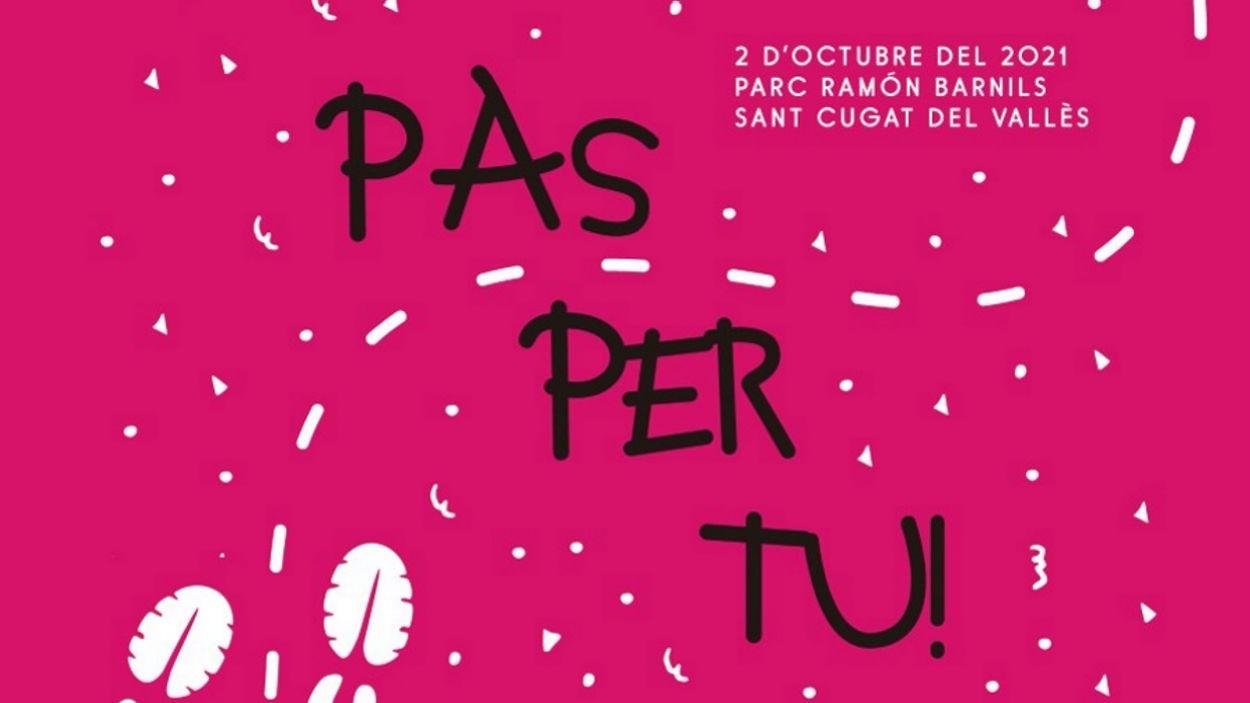 El cartell de la marxa d'enguany / Foto: Fundació Jeroni de Moragas