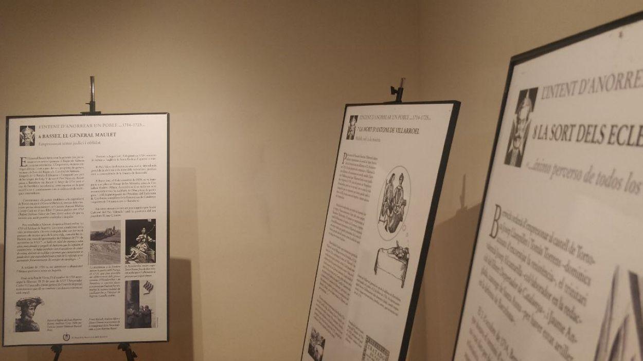 La mostra es pot veure a Cal Gerrer / Foto: Cugat Mèdia