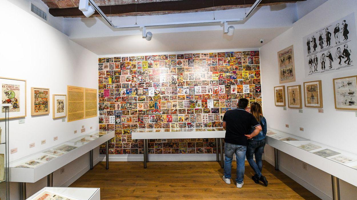El Museu del Còmic, a Sant Cugat / Foto: Localpres