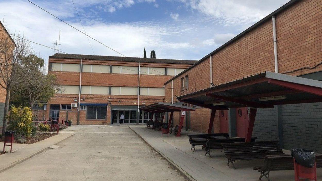 Façana de l'Institut FP, antic edifici del Leonardo Da Vinci / Foto: Institut FP de Sant Cugat