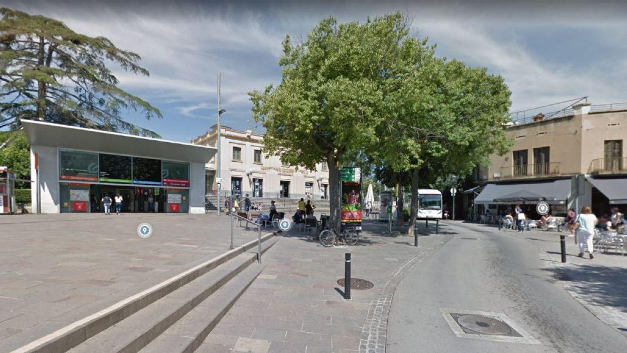 Imatge de la plaça de Lluís Millet / Foto: Google Maps