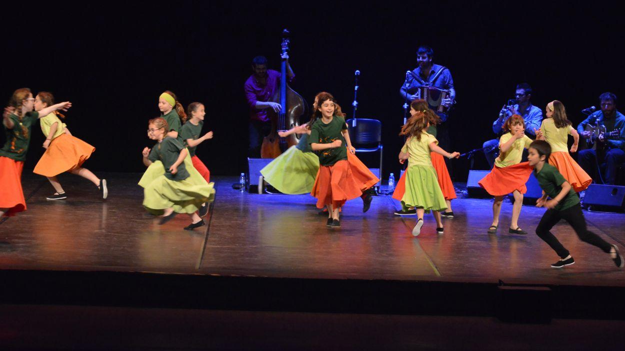 Espectacle de dansa infantil al Teatre-Auditori de Sant Cugat / Foto: Localpres
