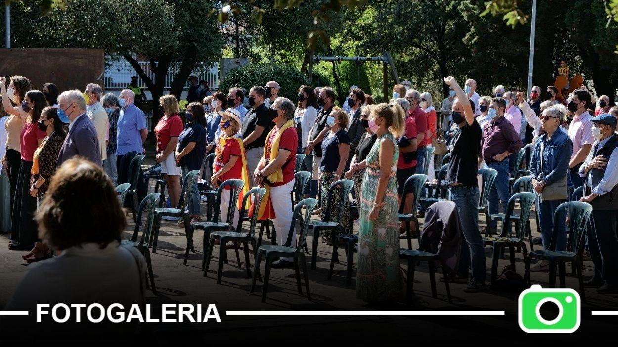 El públic assistent a l'acte institucional de la Diada a Sant Cugat / Foto: Localpres