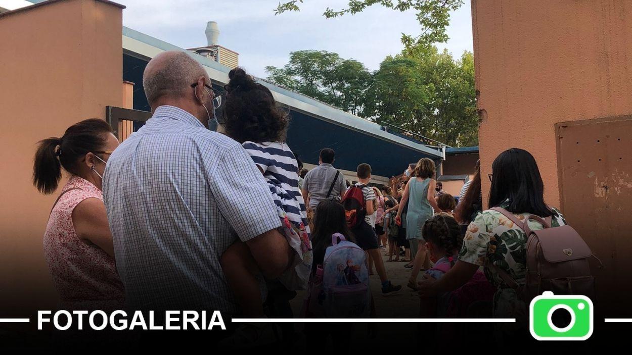 Les imatges del primer dia de curs escolar a Sant Cugat / Foto: Cugat Mèdia