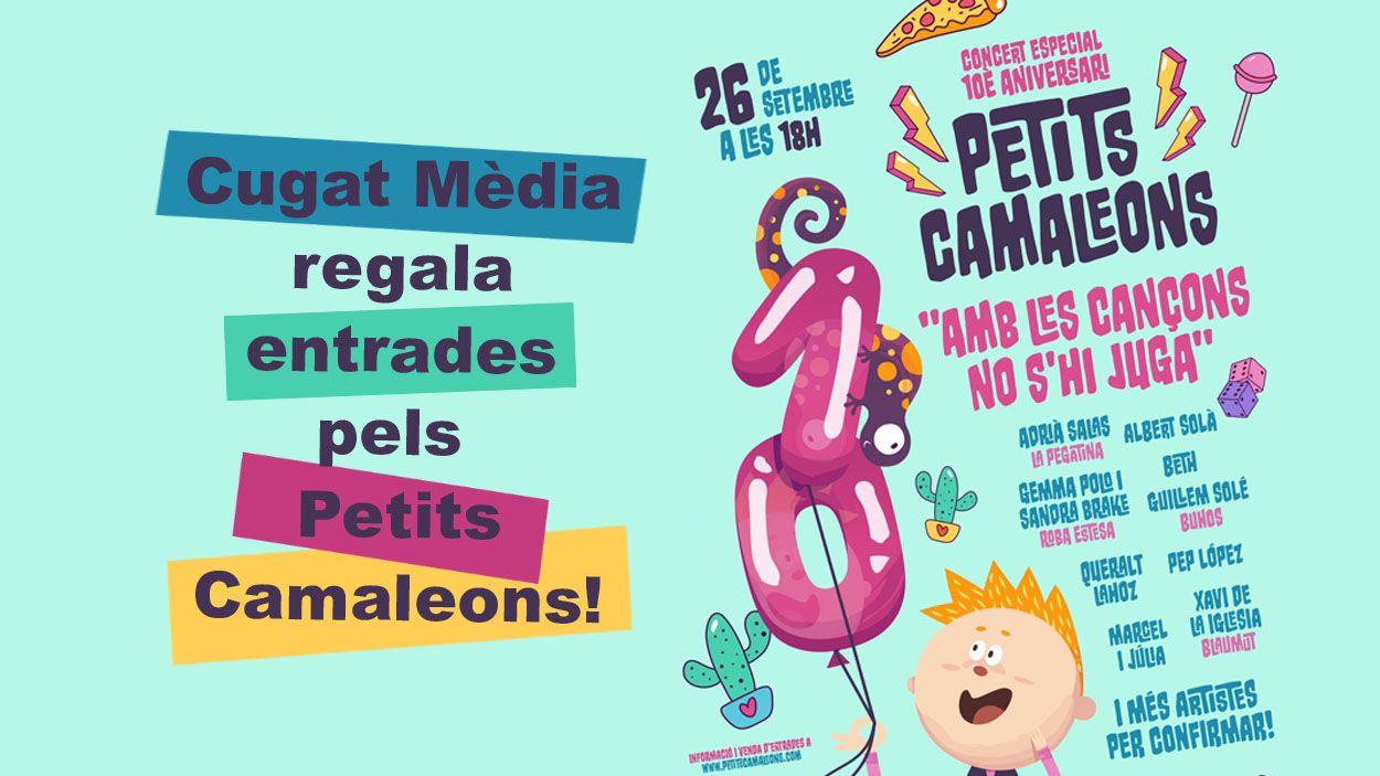 Cugat Mèdia regala entrades pel Festival Petits Camaleons