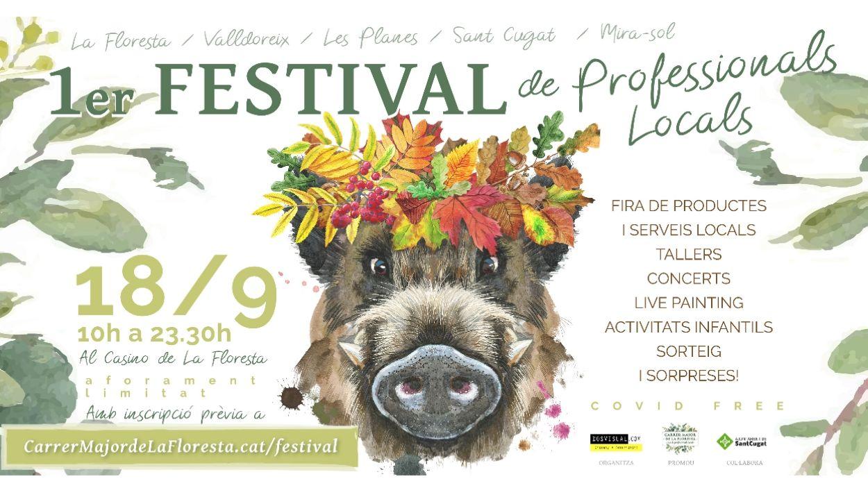 Imatge del cartell del festival / Autoria: Dosvisual