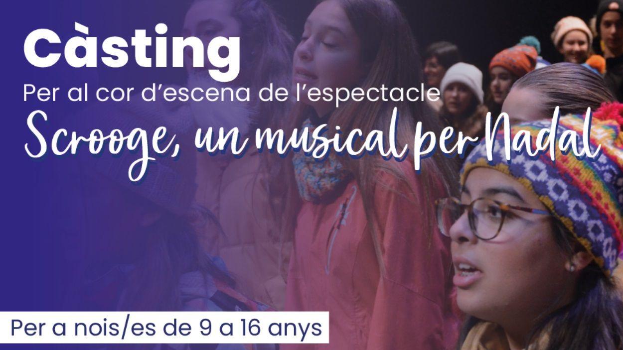 Càsting obert per al musical 'Un Nadal amb Mr. Scrooge', que torna després de la pandèmia