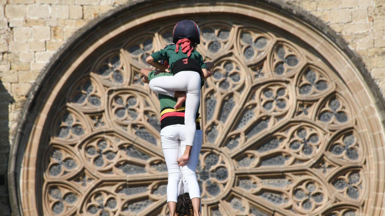 Els Gausacs en una actuació a la plaça d'Octavià / Foto: Localpres