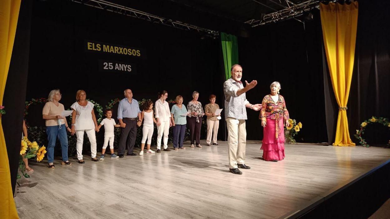 Un moment de l'espectacle / Foto: Cugat Mèdia