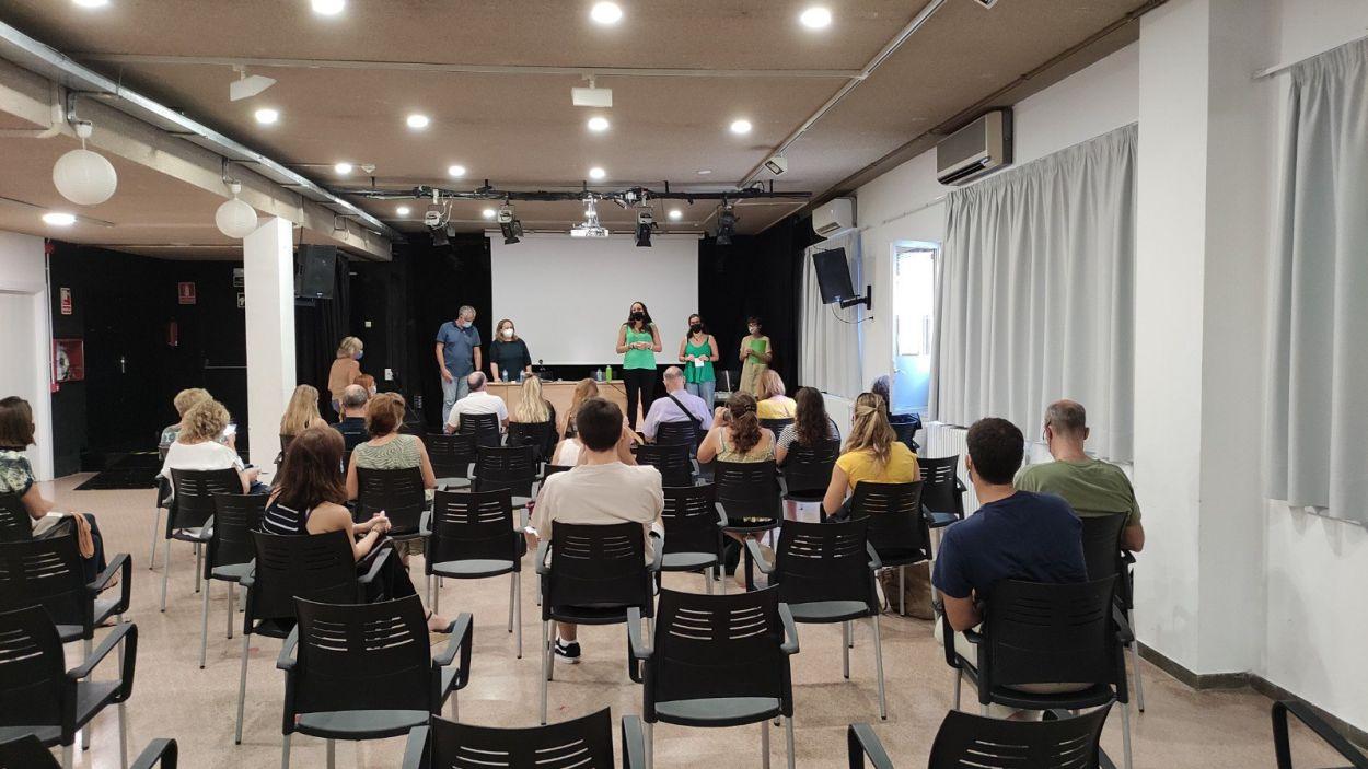 Imatge de la sessió informativa / Foto: Ajuntament de Sant Cugat
