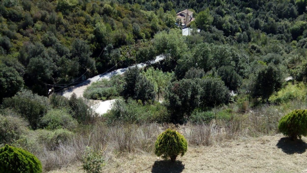 Una imatge de la zona afectada / Foto: Cedida