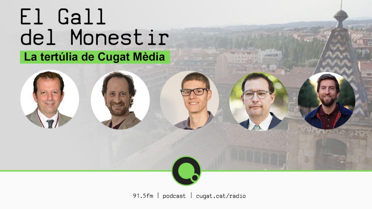 La Setmana de la Mobilitat i el conveni de La Mirada, a la tertúlia política 'El Gall de Monestir'