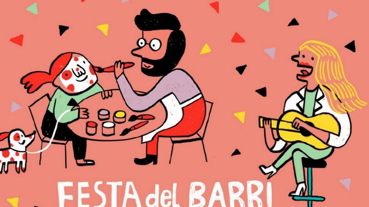 El cartell de la Festa d'enguany / Foto: Ajuntament