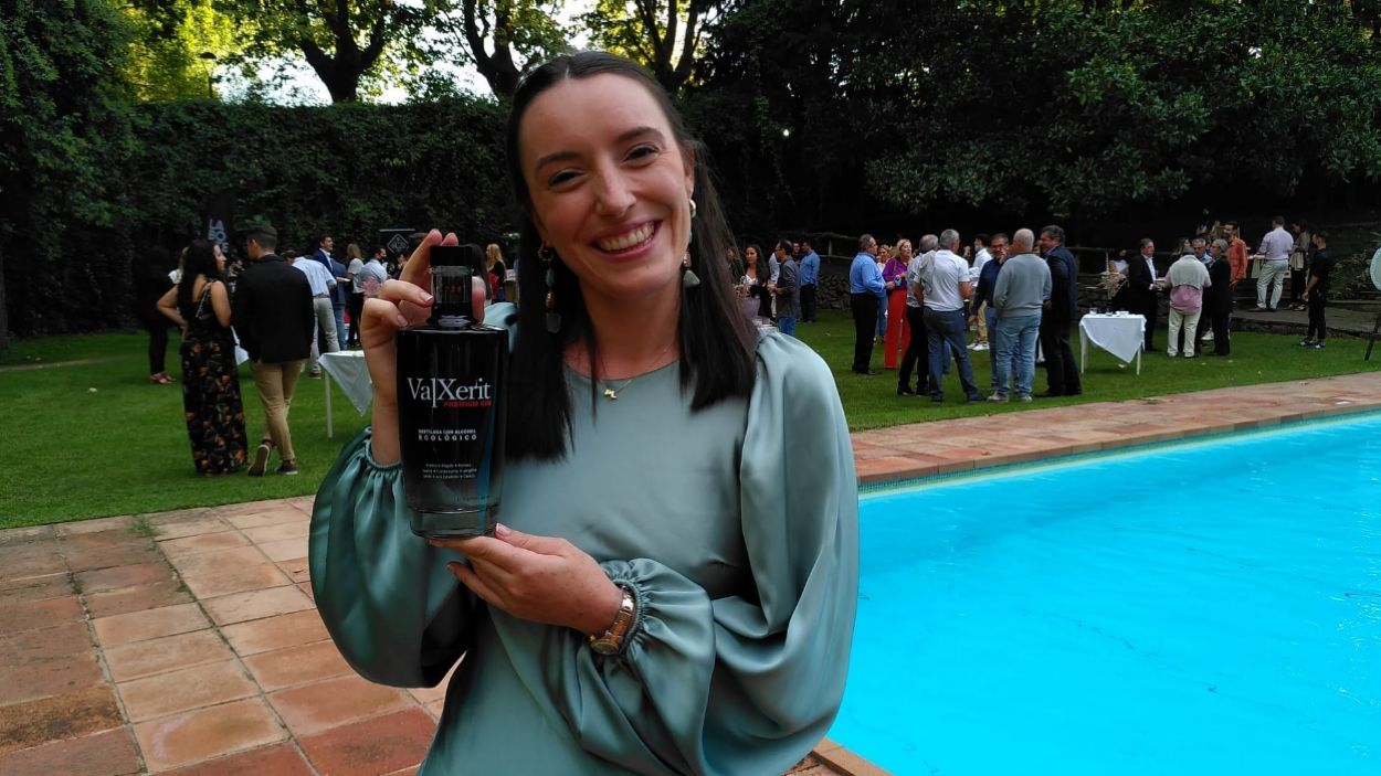 Laura Sala, gerent de Valxerit, durant la presentació / Foto: Cedida