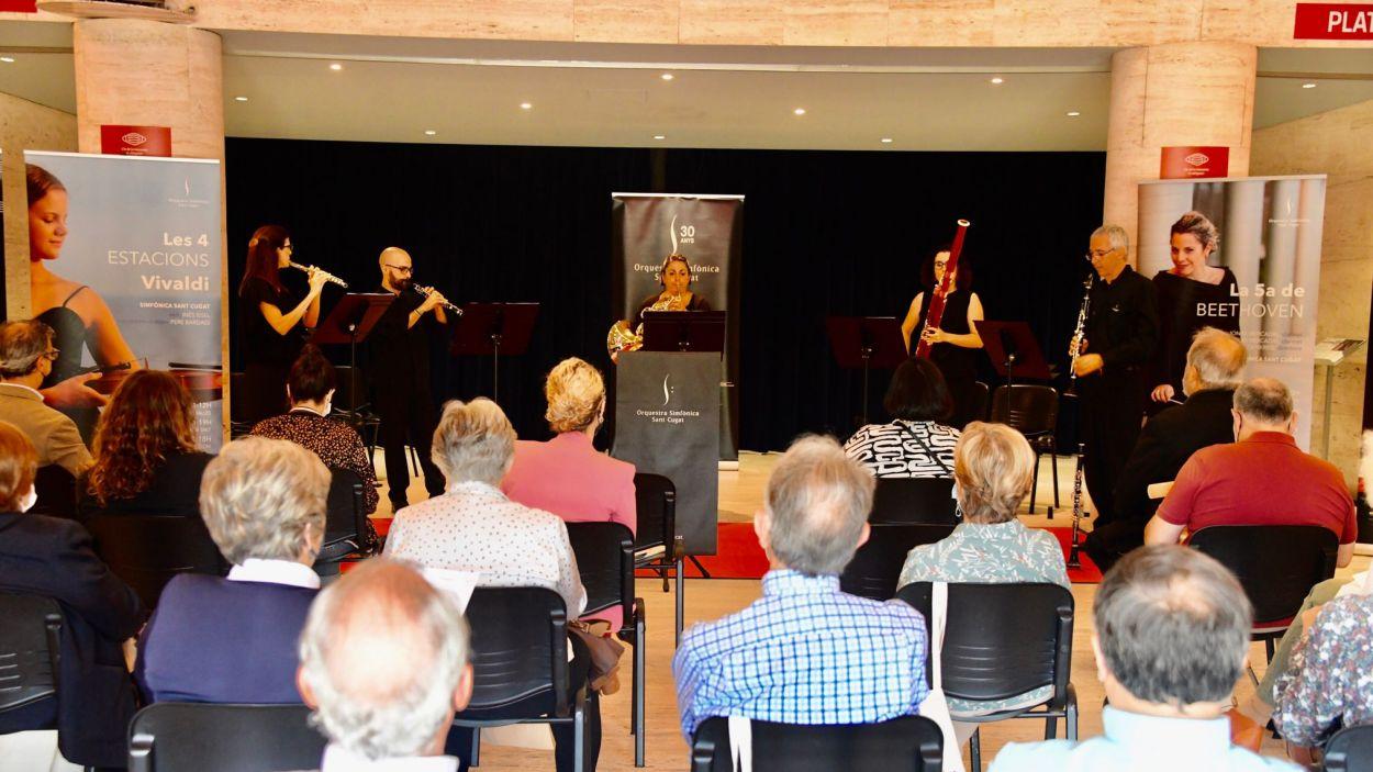 Presentació de la temporada de l'Orquestra Simfònica de Sant Cugat / Foto: Localpress