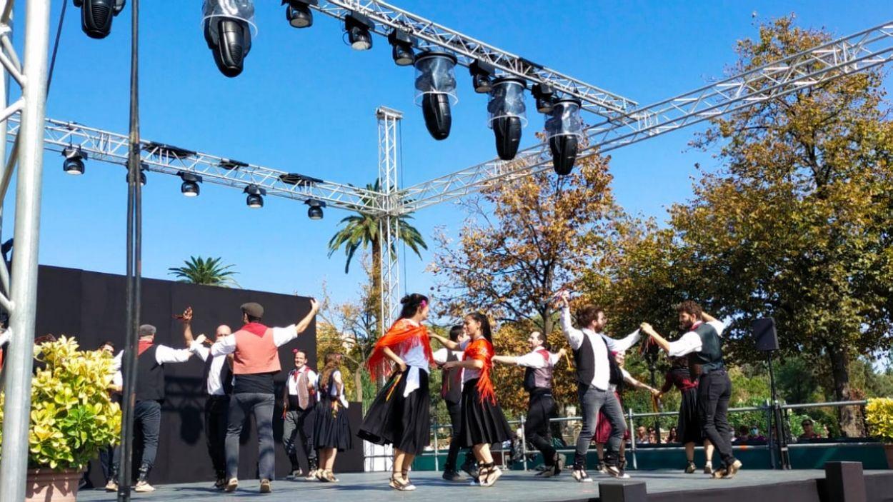 Imatge de l'actuació de les Gitanes a la Mercè / Foto: Cedida