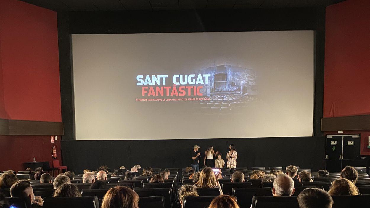 El moment de l'entrega de premis de la VII edició del Sant Cugat Fantàstic / Foto: Cedida