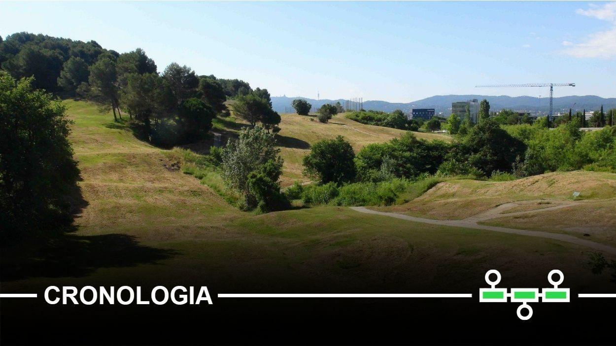 Imatge d'arxiu dels terrenys del golf / Foto: Plataforma Reconvertim el Camp de Golf