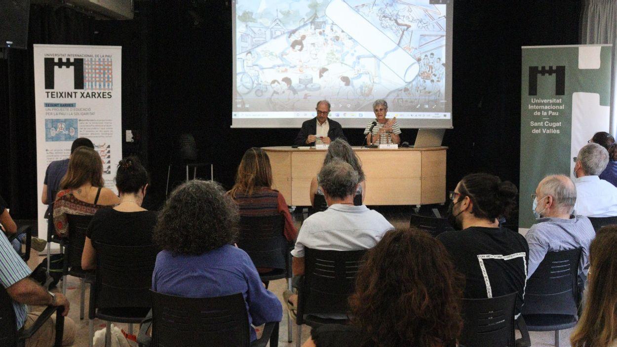 Imatge de l'acte de presentació de la campanya / Foto: Unipau