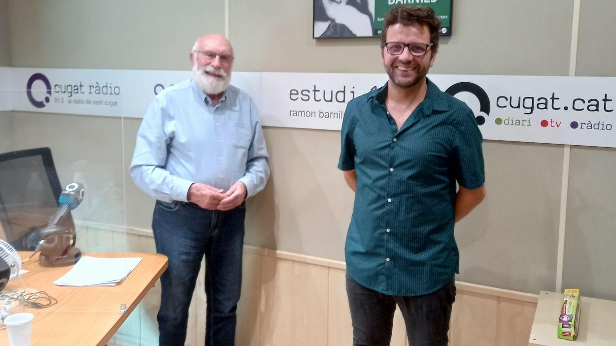 Eduard Jener i Marc Sambola / Foto: Cugat Mèdia