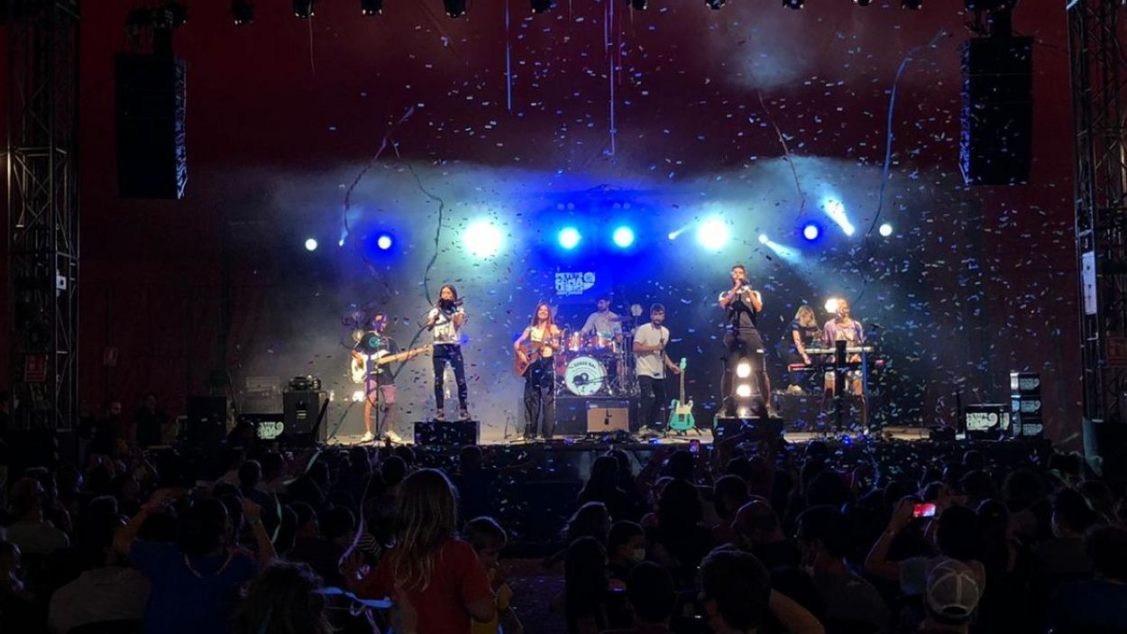 Un dels concerts que ha tancat el festival aquest diumenge / Foto: Cugat Mèdia
