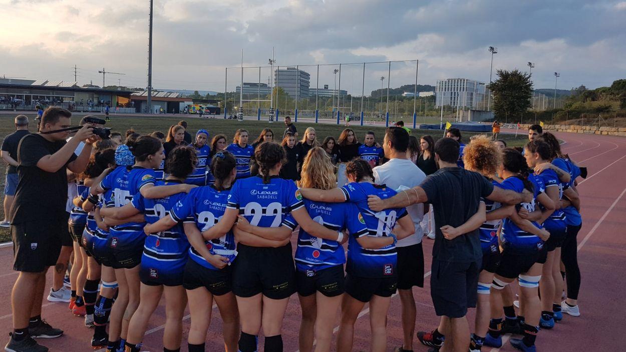 El Rugby Sant Cugat suma el primer punt a Lliga Iberdrola / Foto: Rugby Sant Cugat