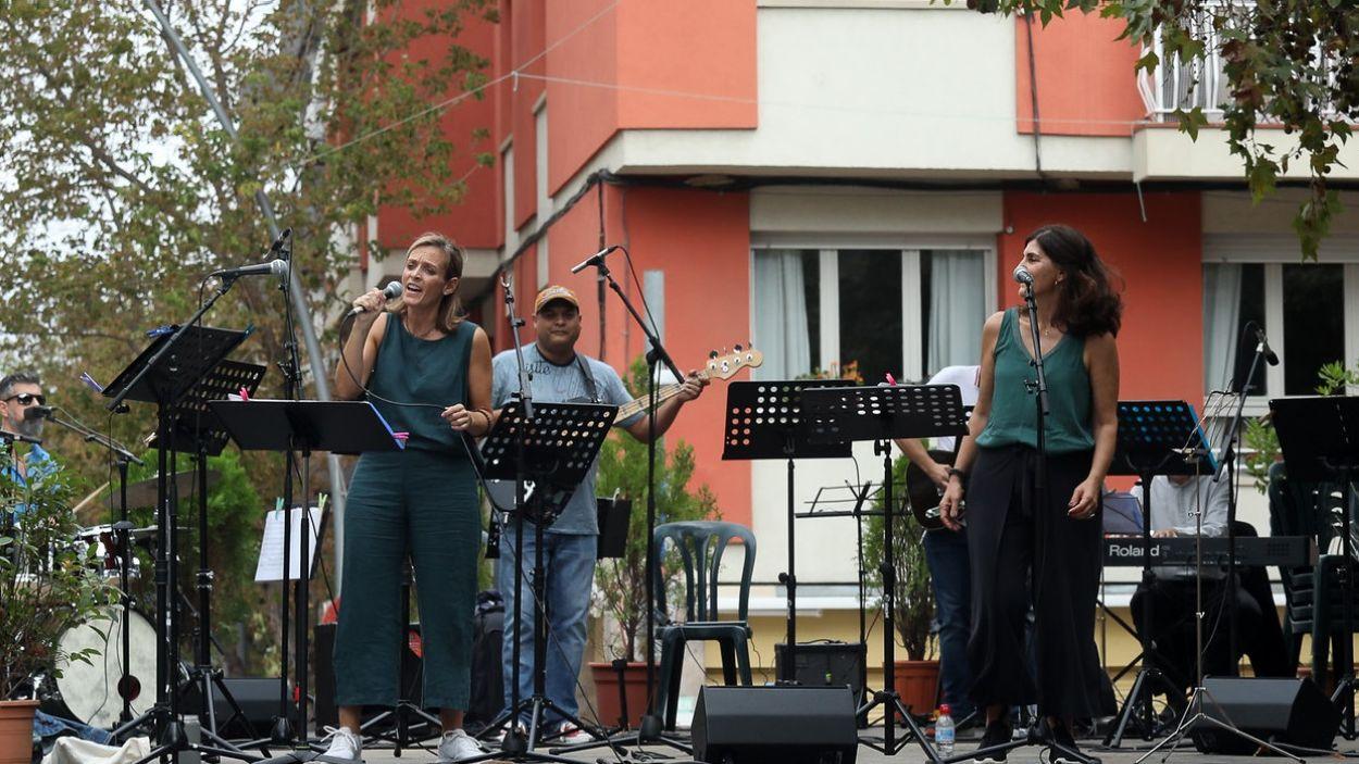 Un moment del concert de l'Aula Jazz Orquestra / Foto: Lali Puig