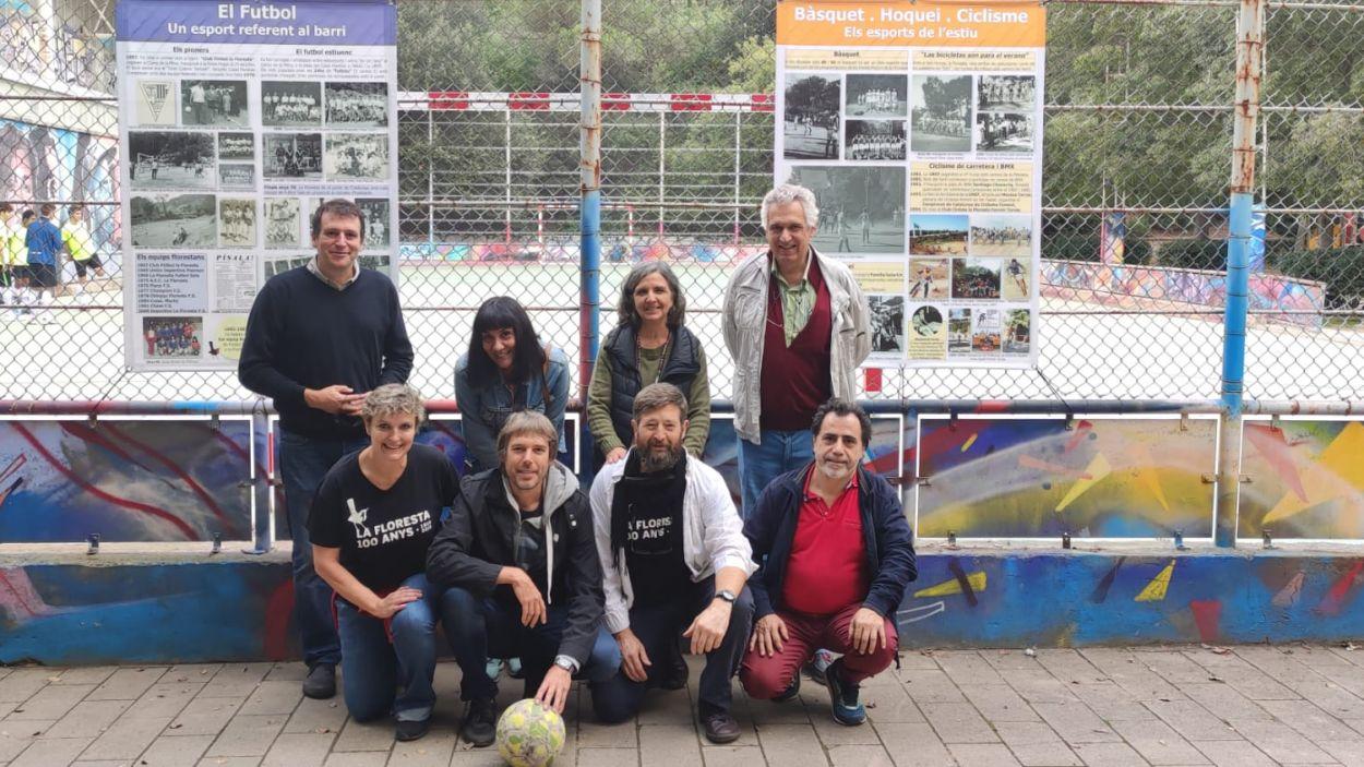 Inauguració de l'exposició '100 anys d'esport i lleure a la Floresta' / Foto: Cugat Mèdia