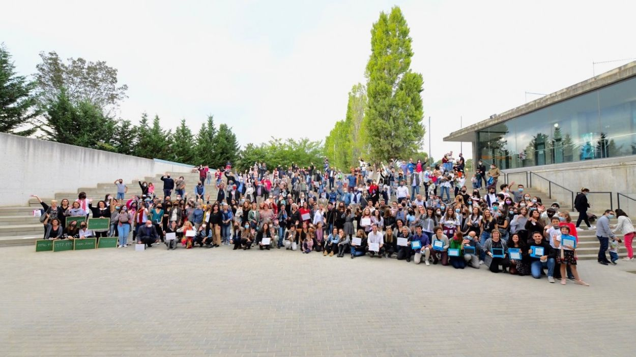 Imatge de l'acte de celebració dels 25 anys del Thau Sant Cugat / Foto: Localpres