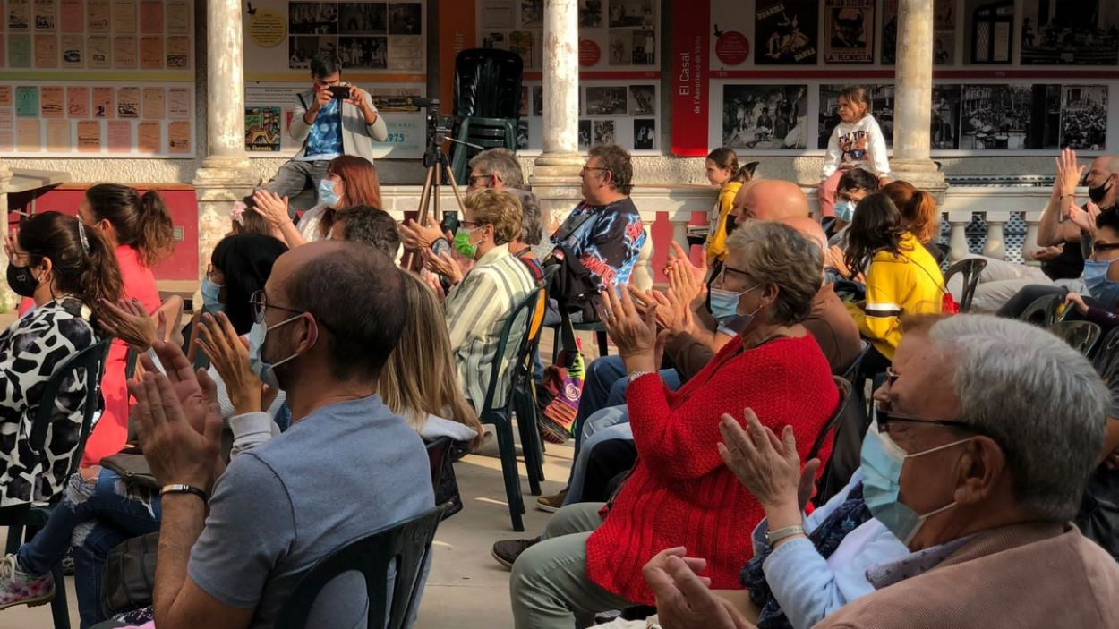 El públic d'un dels actes d'aquesta Festa Major / Foto: Cugat Mèdia