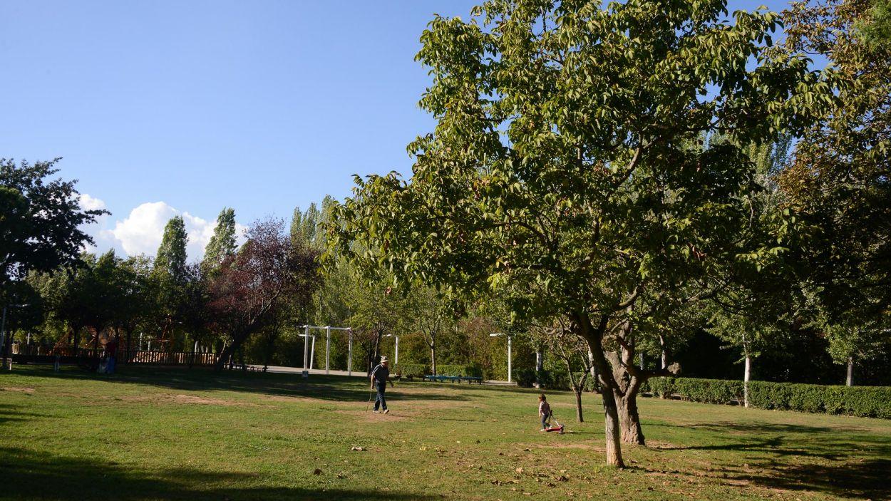 Imatge d'arxiu del Parc Central / Foto: Localpres