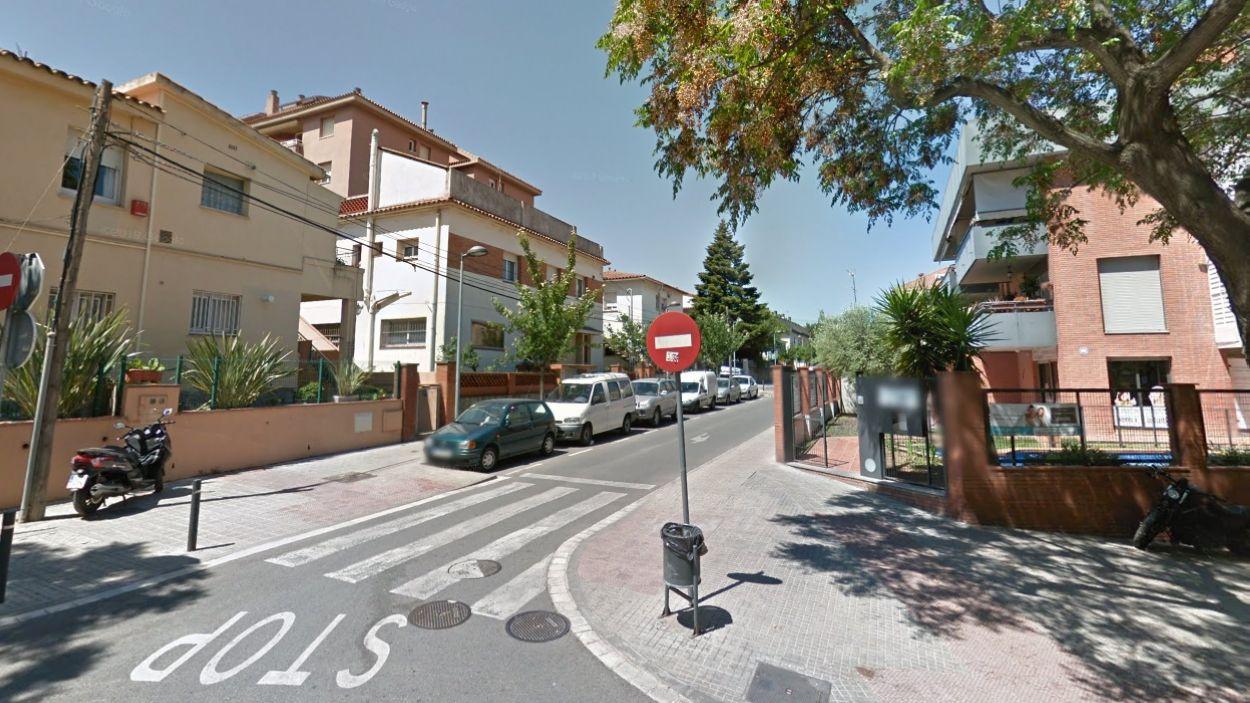 Sortida del carrer d'Estapé / Foto: Google Maps
