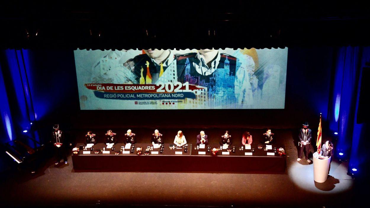 Imatge de l'acte al Teatre-Auditori / Foto: Localpres