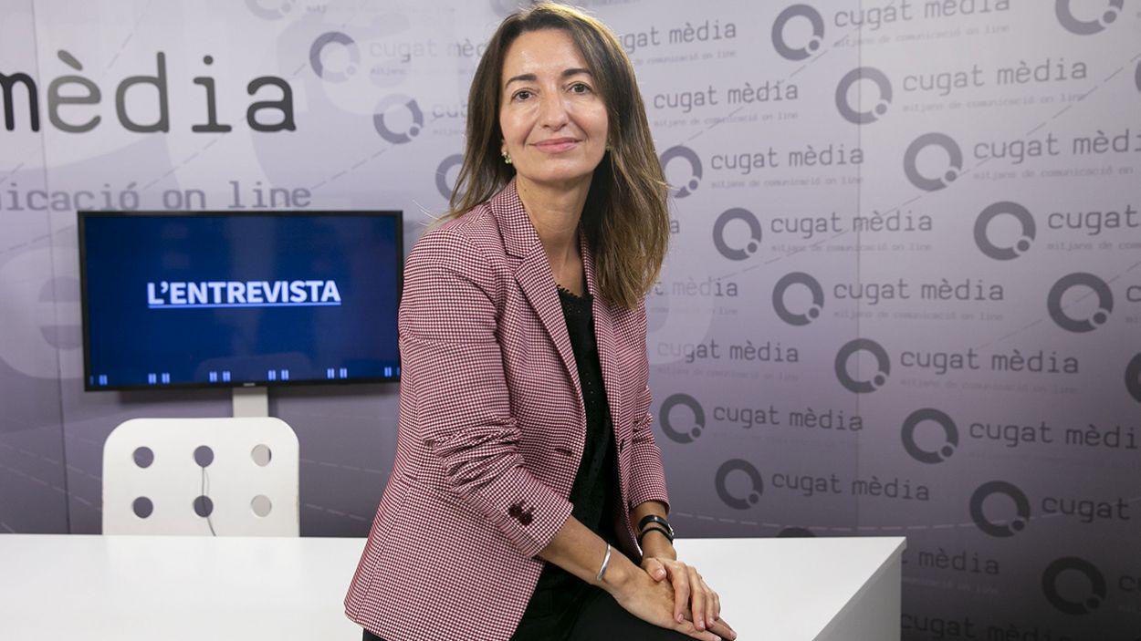 """Marta Subirà (presidenta dels FGC): """"Sant Cugat tindrà un tren cada dos minuts i mig el juny del 2022"""""""