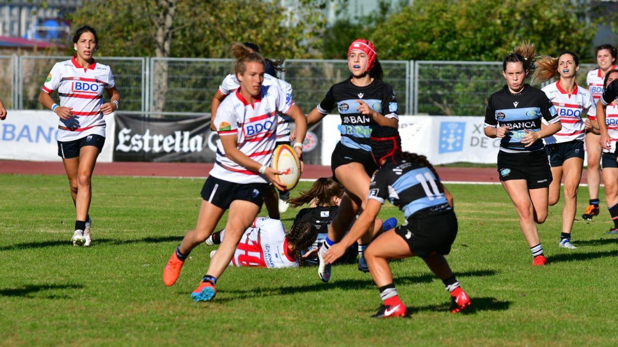 El Rugby Sant Cugat s'enfronta amb el Complutense Cisneros / Foto: Alberto Segade
