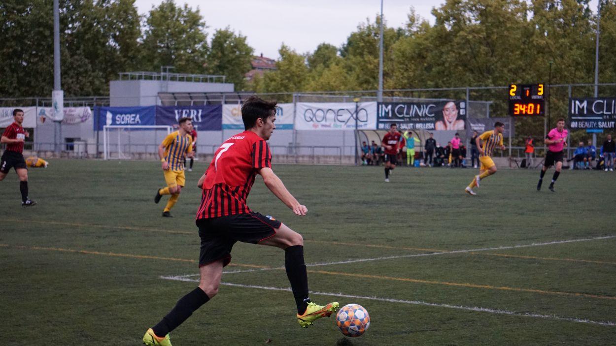 El SantCu vol guanyar el primer partit com a local a la ZEM Jaume Tubau / Foto: Aina Villares