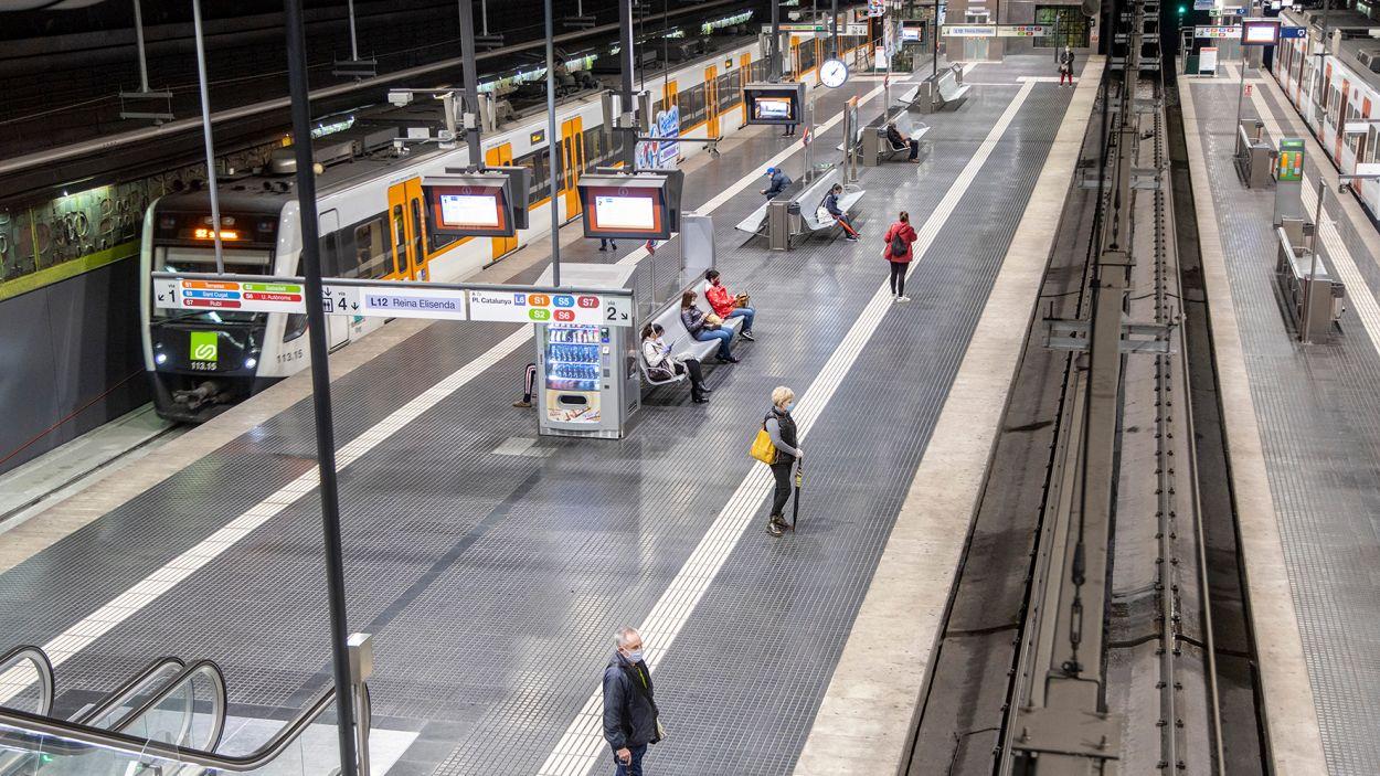 Estació de Sàrria / Foto: FGC