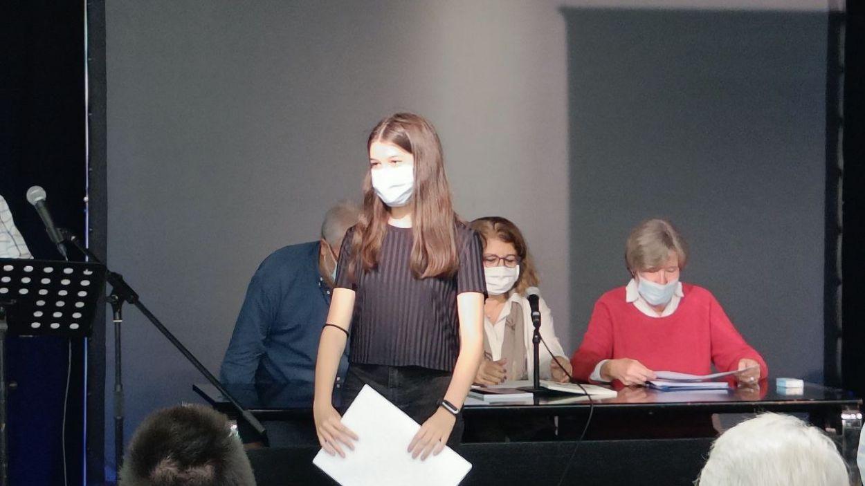 Georgina Martínez, premi Joan Auladell / Foto: Cugat Mèdia