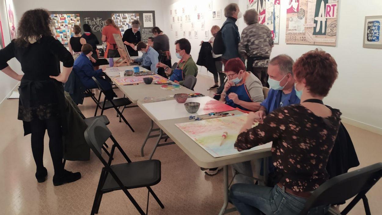 Windown, un taller d'art inclusiu per crear i enfortir vincles