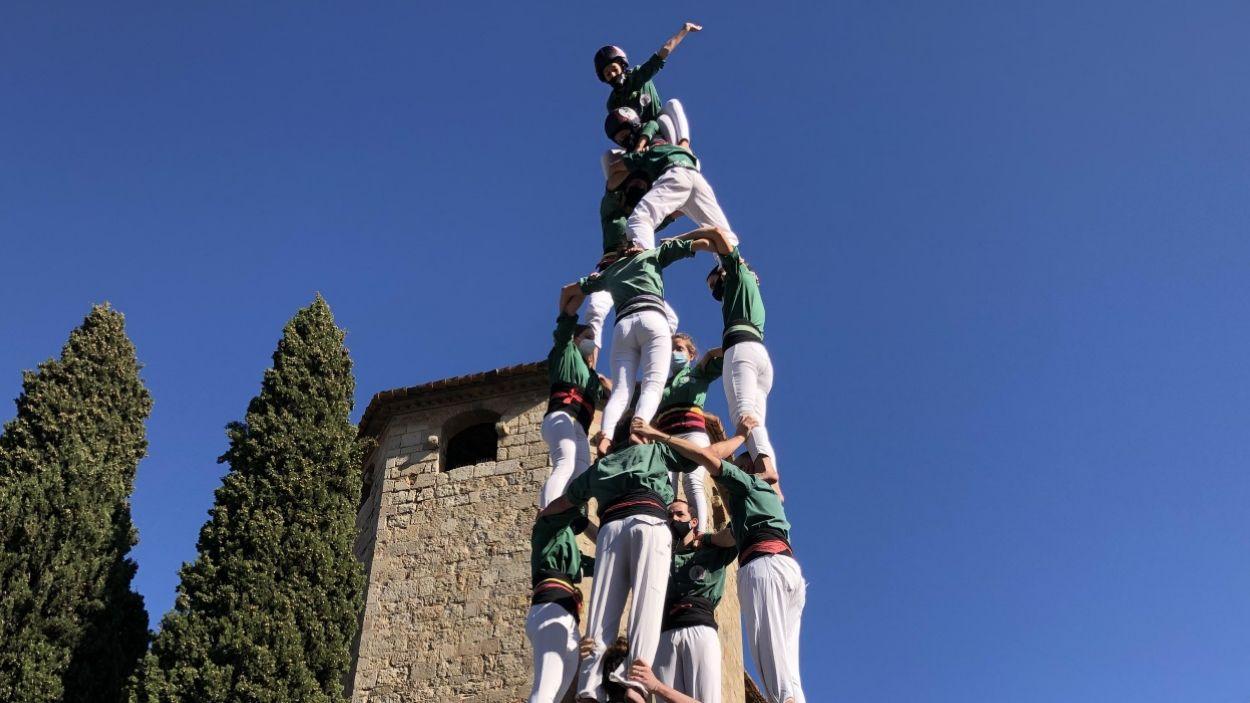 Els Gausacs tornen a actuar a la plaça Octavià després de dos anys / Foto: Cugat Mèdia