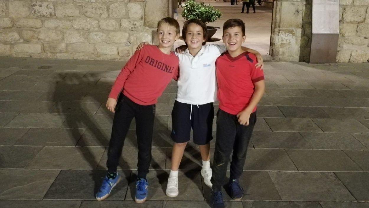 Els tres representants santcugatencs al Campionat de Catalunya / Foto: Ramon Puigneró