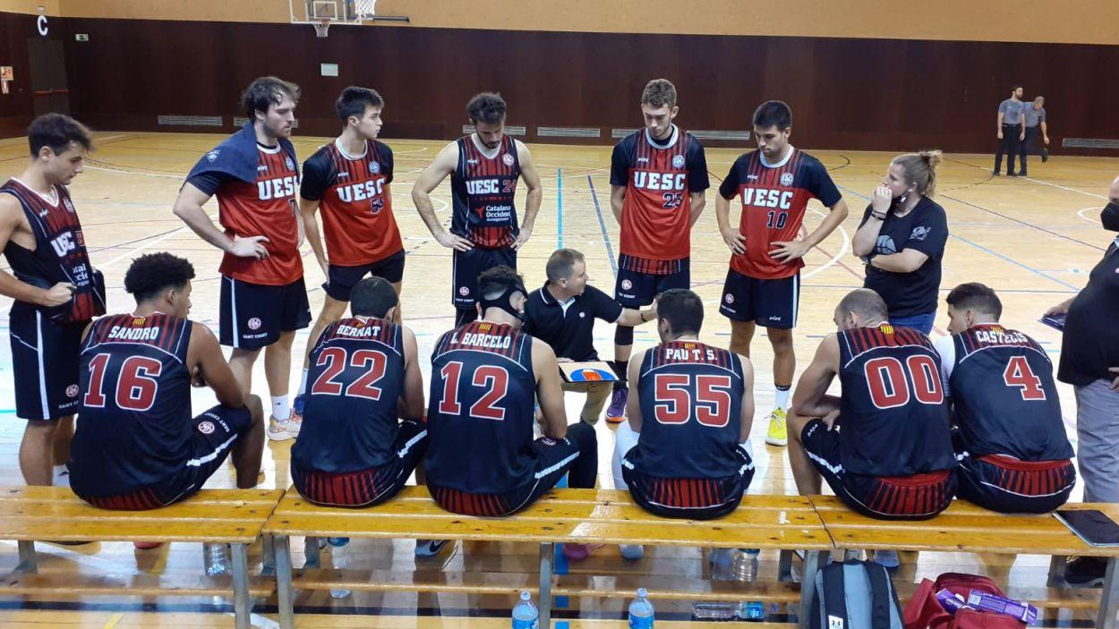La UESC ja sap el que és guanyar a Lliga EBA / Foto: UESC